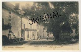 89  -  Laroche -  Le Moulin - Carte Précurseur Voyagée Année 1904  -  2 Scans - Water Mills