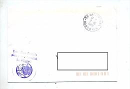 Lettre Franchise Cachet Katzenthal - Storia Postale