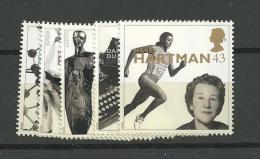 1996 MNH GB, UK, Engeland, Mi 1647-51  Postfris - Nuevos