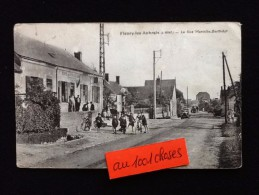 45-  Fleury-les-Aubrais La Rue Marcelin-Berthelot Café Des Voyageurs Maréchal - Francia