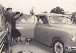 GIOVANE SPOSA ENTRA IN AUTO /  Palermo  - Anni '50 _ Ediz. RANDAZZO - Nozze