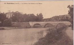 35 ILLE ET VILAINE PONT REAN  Le Chateau Des Rochers Et La Vilaine  N° 470 - France