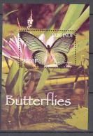 Burundi COB BL145 Vlinders-Papillons-Butterflys 2004 MNH
