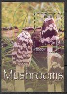 Burundi COB BL149 Mushrooms-Paddestoelen-Champignons 2004 MNH