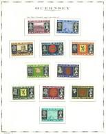 GUERNSEY - COLLEZIONE COMPLETA -MNH ** DAL 1969 FINO AL 1987 + SERVIZI E FOGLIETTI COME DA FOTOGRAFIE - - Stamps