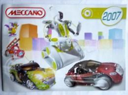 CATALOGUE MECCANO 2007 - Meccano