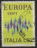 PIA - ITA - 1972 : Europa - (SAS 1174 ) - 1972