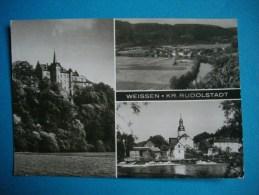 RUDOLSTADT   -  Allemagne  -  Weissen  -  KR Rudolstadt    -  Multivues - Rudolstadt