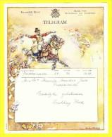 * Telegram - Télégramme (B13 - V)  * Koninkrijk België, Regie Van Telegraaf En Telefoon, Fantaisie, Huwelijk, Oostkamp - Entiers Postaux