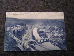 BOUILLON SUR SEMOIS CPA Carte Postale Voyagée Province Luxembourg Timbre 10 Centimes France Cachet Poste Charleville - Bouillon