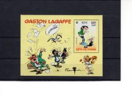 Bloc BF 34--Journée Du Timbre 2001-- Gaston Lagaffe - Mint/Hinged