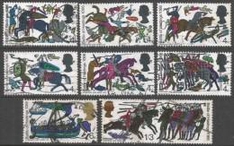 Great Britain. 1966 900th Anniv Of Battle Of Hastings. Used Complete Set SG 705-712 - 1952-.... (Elizabeth II)