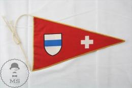 Vintage Switzerland Collectible Pennant/ Flag/ Fanion - Otros