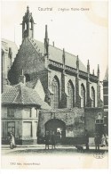 COURTRAI - L' Eglise Notre-Dame - 3962  Edit. Beyaert-Filleul - Kortrijk