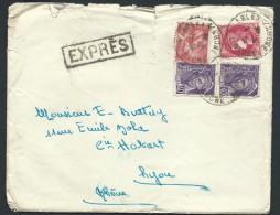 FRANCE - Enveloppe En Exprés De Arles Pour Lyon En 1941 - A Voir - Lot  P14021 - Posttarife