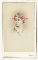 CDV Vers 1870-Aimée Zoé PRUGNEAUX De Bicqueley--épouse Joseph Ulysse NOEL-photo REUTLINGER - Old (before 1900)