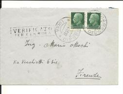 Italie  , Lettre 1935 , Censurée  (115) - Usati