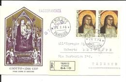 Italie  , Lettre  Recommandée 1966 (119/120) - 6. 1946-.. Repubblica