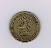 Czechoslovakia 1 Koruna, 1964 - Monnaies