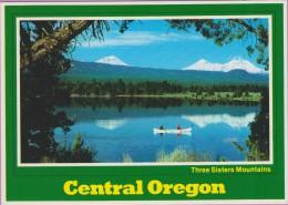 OREGON °° Tumalo Réservoir Horizon Three Sisters - écrite Non Datée - Etats-Unis