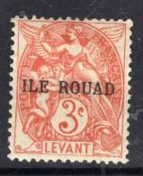 Rouad N° 6  X  Type Blanc 3 C. Orange Trace Charnière Sinon TB
