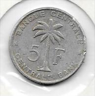 5 Francs Alu 1958     Clas D 24 - Congo (Belge) & Ruanda-Urundi