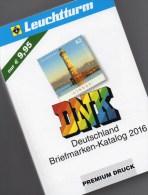 DNK 2016 Deutschland Netto Briefmarken Katalog Neu 10€ AD DR 3.Reich Saar Memel Danzig SBZ DDR Berlin AM Bundesrepublik - Books, Magazines, Comics