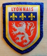 Ancien Patch à Coudre écusson France Région Le Lyonnais - Blason - Ecussons Tissu