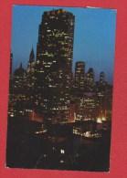 New York  --  Rockefeller Center At Night - New York City