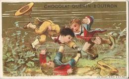 CHROMO CHOCOLAT GUERIN BOUTRON  JE L'AURAIS LE POISSON - Guerin Boutron