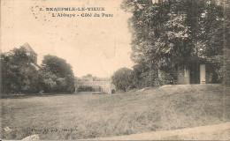 1923  ; NEAUPHLE  LE  VIEUX     ;  L´ABBAYE  COTE  PARC - Neauphle Le Chateau