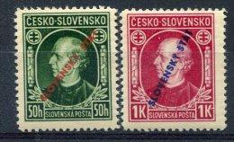 Slovaquie                                             30/31 ** - Unused Stamps