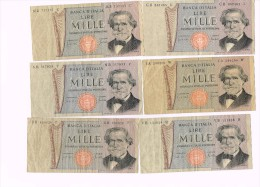 Italy 1000 Lire 1969 X  6 - Italia - [ 2] 1946-… : Republiek