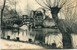 CPA10 POUAN LES RUINES DU MOULIN 1912 - Sonstige Gemeinden