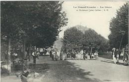 Gard : La Grand Combe, Rue Salavert Et Bd Jules Gallon,   Belle Animation - La Grand-Combe