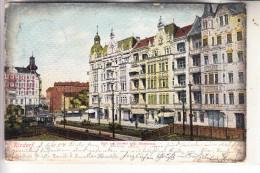 1000 BERLIN - RIXDORF, Blick Vom Bahnhof, 1904, Strassenbahn - Rixdorf