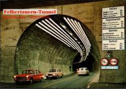 ! Moderne Ansichtskarte Felbertauern Tunnel, Autos, BMW, Voitures, Cars - Voitures De Tourisme
