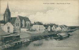 89 PONT SUR YONNE / Quai Nicolas De Vères / - Pont Sur Yonne