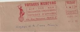 """Commerce, Voyage, Divinité,  """"Mercure"""" - EMA Secap - Enveloppe   Entière  ( R094bis) - Mythologie"""