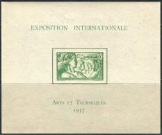 Oceanie RF 1937. Michel Bl.#1 MNH/Luxe (B23) - 1937 Exposition Internationale De Paris
