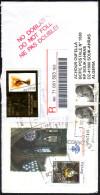 Lettre Recommandée à Destination De L´Algérie. - 2011-... Briefe U. Dokumente