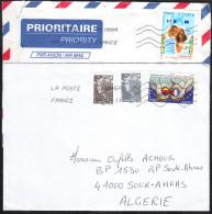 2 Lettres   à Destination De L´Algérie. - Briefe U. Dokumente