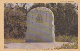 Florida Bradenton DeSoto Trail Monument Dexter Press