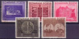 Rumänien Mi. 686-690 Gest. (€ 25,00) - Ansehen!! - 1918-1948 Ferdinand, Charles II & Michael