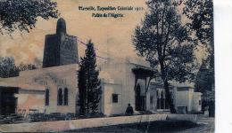 EVENEMENTS - MARSEILLE EXPOSITION COLONIALE 1922- PALAIS DE L'ALGÉRIE (1 PLI) - Expositions