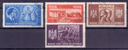 Rumänien Mi. 706-709 Gest. (€ 30,00) - Ansehen!! - 1918-1948 Ferdinand, Charles II & Michael
