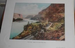 Etats Unis. Utah. Ruby Castles. Canyon De La Grand River. 1914. - Autres