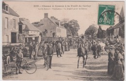 14 - Vaubadon - La Saint Hubert -Chasse à Courre à La Fôret De Cerisy - Le Départ Pour La Chasse - Edteur: Dubosq N° XIV - France