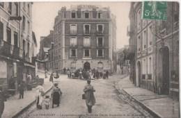 LE TREPORT LE CARREFOUR RUE DE PARIS SUZANNE ET ST MICHEL - Le Treport