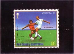 1978 Guinea Equatorile - Campionati Mondiali In Argentina - 1978 – Argentine